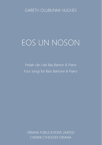GARETH OLUBUNMI HUGHES: Eos Un Noson