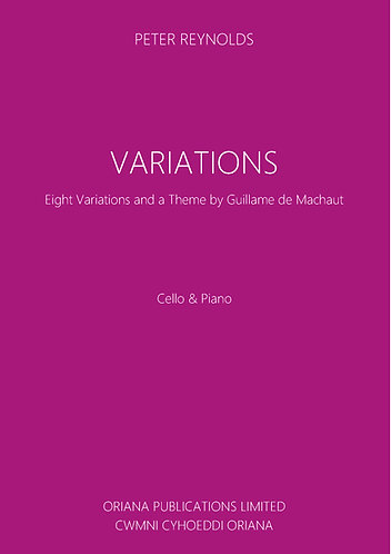 PETER REYNOLDS: Variations for Cello & Piano