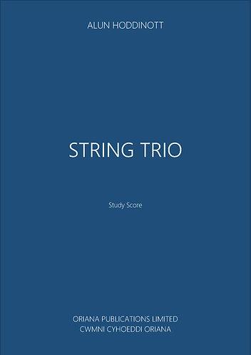 ALUN HODDINOTT - String Trio