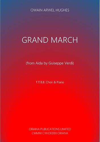 VERDI arr. OWAIN ARWEL HUGHES: Grand March