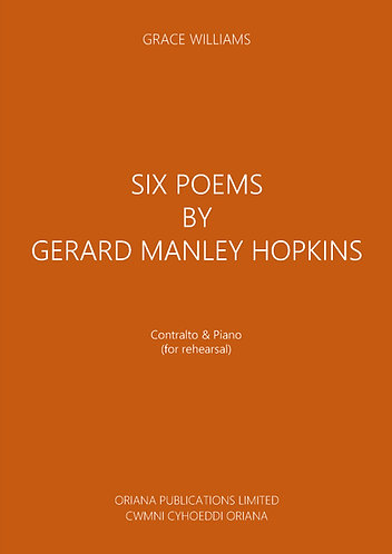 GRACE WILLIAMS - Six Poems by Gerard Manley Hopkins
