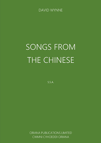 DAVID WYNNE - Four Songs from the Chinese