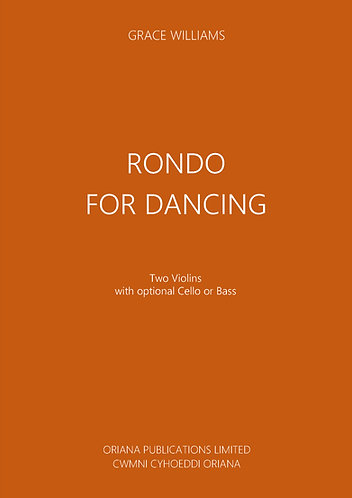 GRACE WILLIAMS: Rondo for Dancing