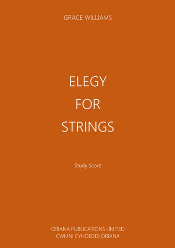 GRACE WILLIAMS: Elegy for Strings