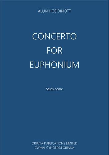 ALUN HODDINOTT - Concerto for Euphonium