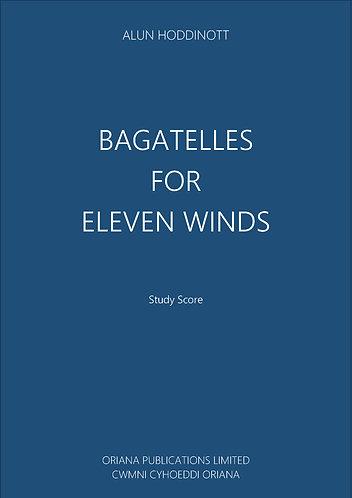 ALUN HODDINOTT: Bagatelles For 11 Winds