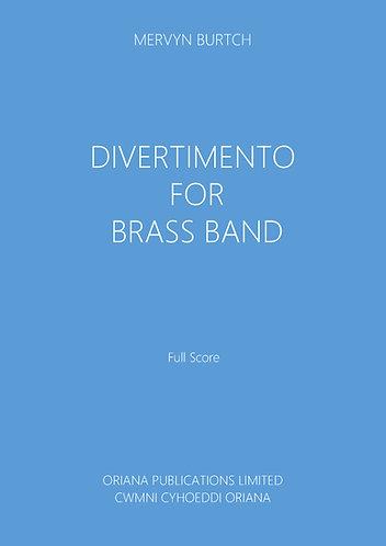 MERVYN BURTCH - Divertimento for Brass Band