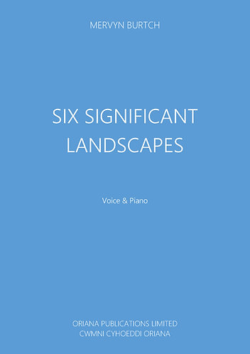 MERVYN BURTCH: Six Significant Landscapes