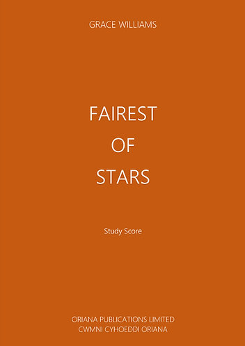 GRACE WILLIAMS: Fairest Of Stars