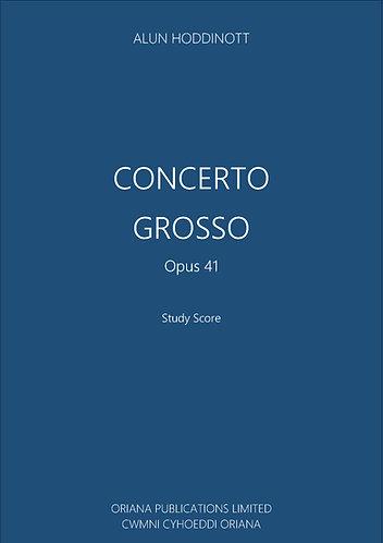 ALUN HODDINOTT: Concerto Grosso Op.41