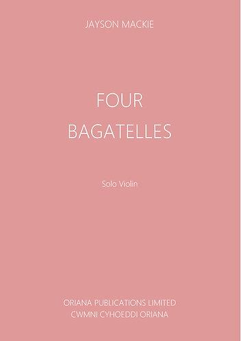 JAYSON MACKIE: Four Bagatelles