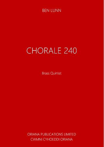 BEN LUNN: Chorale 240