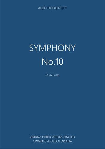 ALUN HODDINOTT: Symphony No.10