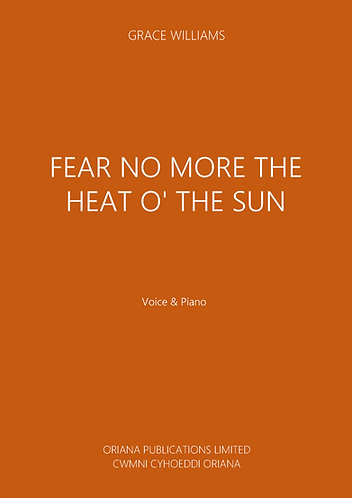 GRACE WILLIAMS - Fear No More the Heat o' the Sun
