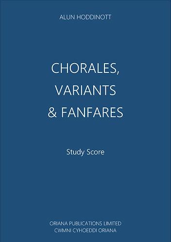 ALUN HODDINOTT: Chorales, Variants & Fanfares