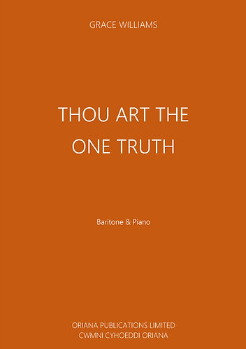 GRACE WILLIAMS: Thou Art The One Truth