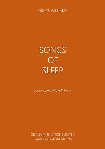 GRACE WILLIAMS: Songs of Sleep