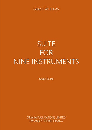 GRACE WILLIAMS: Suite for Nine Instruments