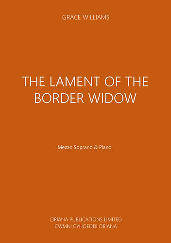 GRACE WILLIAMS: The Lament of the Border Widow