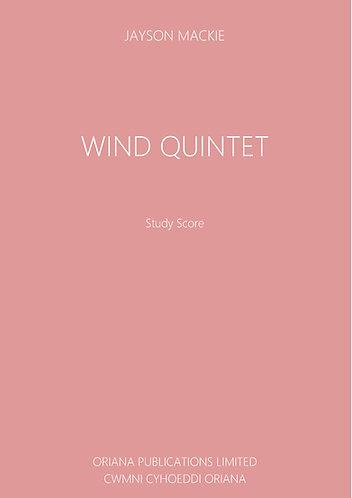 JAYSON MACKIE: Wind Quintet
