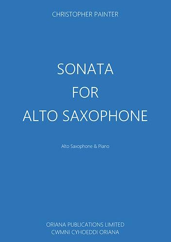 CHRISTOPHER PAINTER: Sonata for Alto Saxophone & Piano Op.56