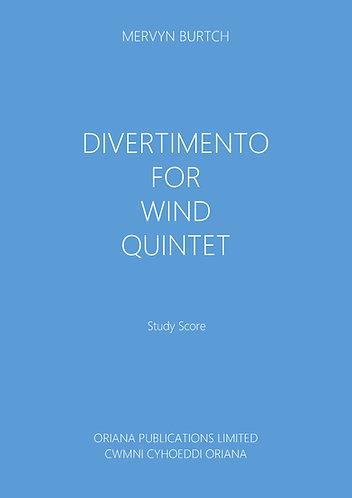 MERVYN BURTCH - Divertimento for Wind Quintet