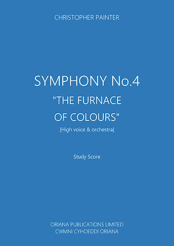 "CHRISTOPHER PAINTER: Symphony No.4 ""The Furnace Of Colours"""