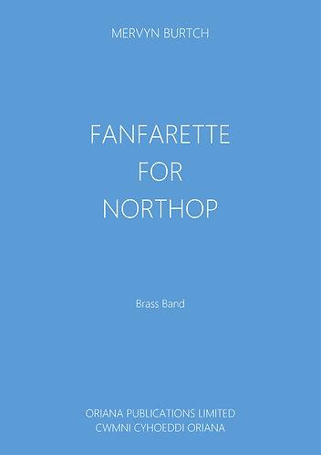 MERVYN BURTCH - Fanfarette for Northop