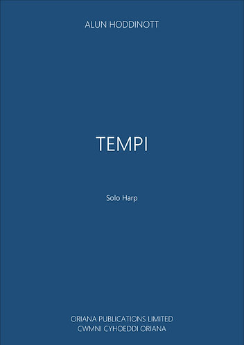 ALUN HODDINOTT: Tempi (Sonata for Harp)