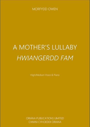 MORFYDD OWEN: A Mother's Lullaby/Hwiangerdd Mam