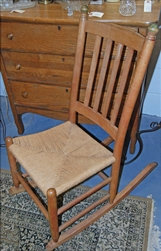 Classic Country Charm Rocking Chair
