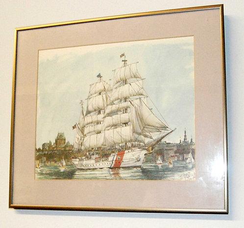 Tall Ships Ben Babelowsky - Nautical Print