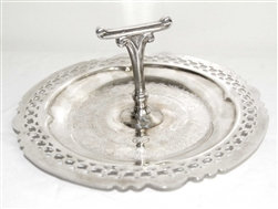 Wonderful Silver Candy Dish / Serving Tray - Made in Canada