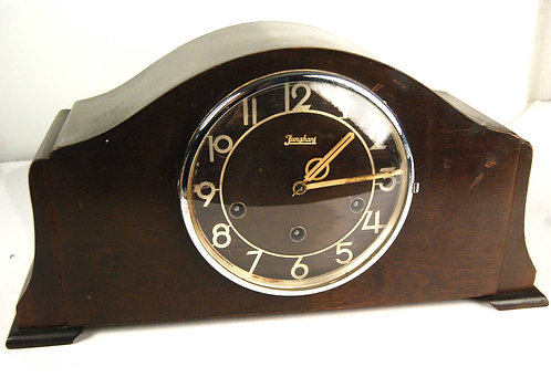 ART DECO Germany Junghans Chiming Mantle Clock