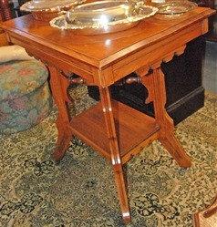 Antique Side Parlor Table