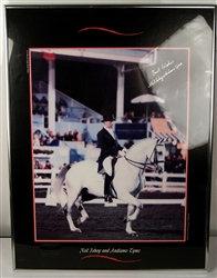 Autographed ~ Horse Dressage Poster ~ Neil Jshoy & Andiamo Tyme