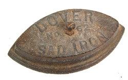 Antique Cast Iron Dover No.62 Sad Iron