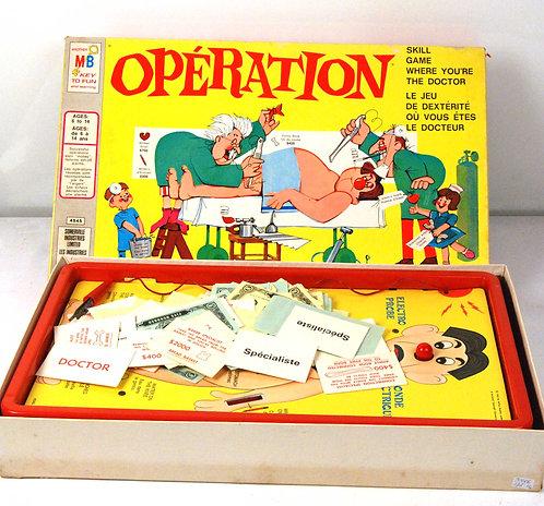 Vintage Operation Skill Game