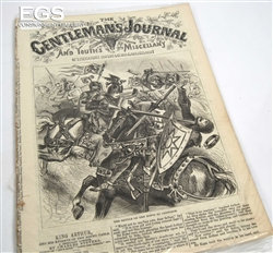 """Collection of """"Gentleman's Journal Youth Miscellany"""" - 1869-72 - 27 issues of th"""