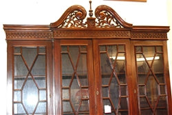 Chippendale custom made Hutch Display Cabinet