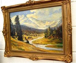1931 - Canadian Painter Van Der Vliet