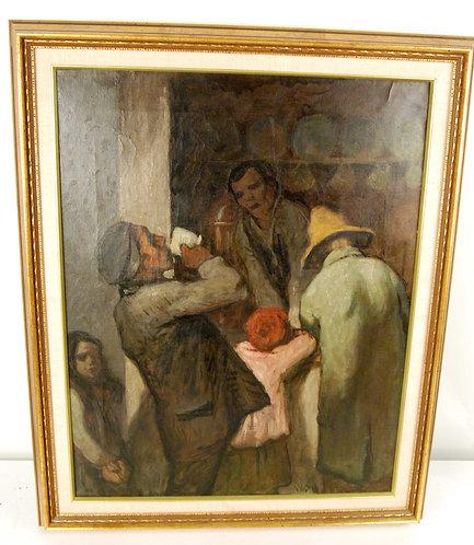 William Strang (1859-1921) Original Painting -Apprised
