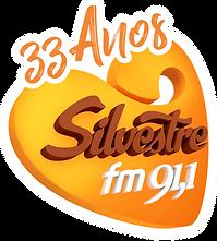 Logo 33 Anos Ailvestre FM.png
