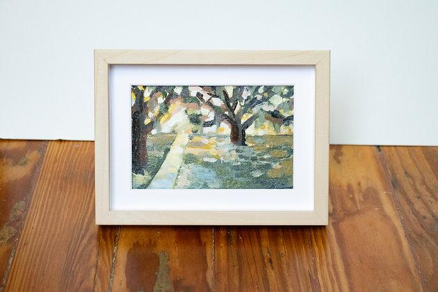 Shady Oaks Tiny Landscape