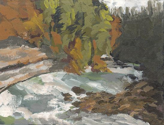 Burgess Falls   Landscape Canvas Print