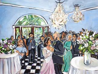 White Oak Estate & Garden First Dance