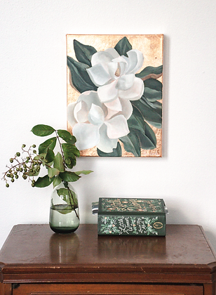 Blushing Blooms | 11x14