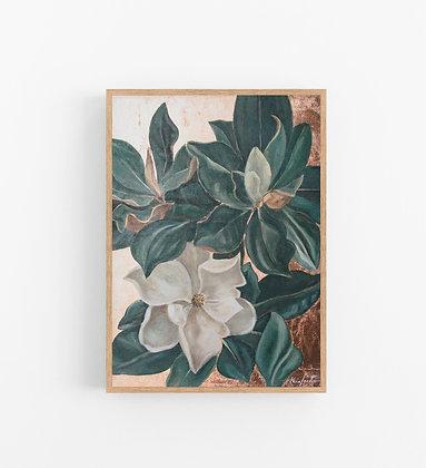 Wild Grown | Vertical Embellished Print