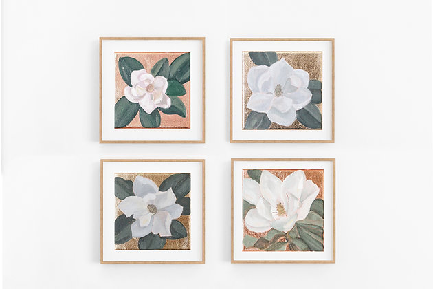 Magnolia Minis   Canvas Print Set