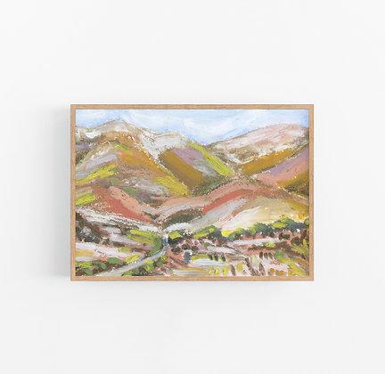 Terracotta Canyon | Canvas Print